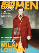 gap PRESS MEN vol.48(2017−2018Autumn & Winter) MILAN,LONDON MEN'S COLLECTIONS