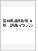 愛知県道路地図 4版 (県別マップル)