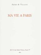 MA VIE A PARIS 「私のパリ生活」