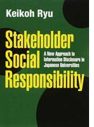 Stakeholder Social Responsibility A New Approach to Information Disclosure in Japanese Universities