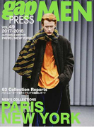 gap PRESS MEN vol.49(2017−2018Autumn & Winter) PARIS,NEW YORK MEN'S COLLECTIONS (gap PRESS COLLECTIONS)