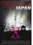 BURRN!JAPAN Vol.8 X JAPAN巻頭大特集!