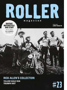 ROLLER magazine VINTAGE MOTORCYCLE AND STUFF #23(2017.SUMMER) RICK ALLEN'S COLLECTION