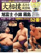 大相撲名力士風雲録 19 月刊DVDマガジン (分冊百科シリーズ )
