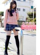 女子校生 先輩、一緒に帰ってくれませんか・・・ 椎名香奈江(美少女☆爛漫女学園)