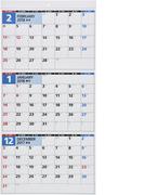 E5:エコカレンダー壁掛A2変型 2018年版1月始まり