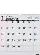 E31:エコカレンダー壁掛B2変型 2018年版1月始まり