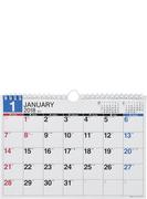 E92:エコカレンダー壁掛B5 2018年版1月始まり