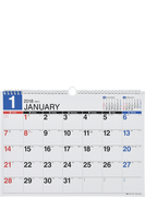 E73:エコカレンダー壁掛B4 2018年版1月始まり