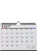 E104:エコカレンダー壁掛卓上A5 2018年版1月始まり