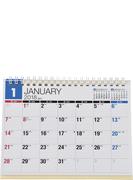 E155:エコカレンダー卓上B6 2018年版1月始まり