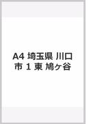 A4 埼玉県 川口市 1 東 鳩ヶ谷