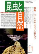 昆虫と自然 2017年 11月号 [雑誌]