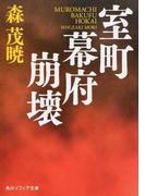 室町幕府崩壊 (角川ソフィア文庫)(角川ソフィア文庫)