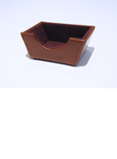 ATHENAレザーケース DUXインクボトルシャープナー用 ブラウン (丸善オリジナル)