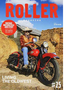 ROLLER magazine VINTAGE MOTORCYCLE AND STUFF #25(2017.WINTER) LIVING THE OLDWEST