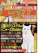 週ニャン大衆 スクープ袋とじ話題のニャンドルが決意のヘアヌード♥ 美人女優そっくりさん(!?)猫