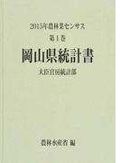 農林業センサス 2015年第1巻33 岡山県統計書