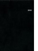 2018年4月始まり A5方眼バーチカル クラシカルブラック N101