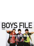 BOYS FILE Vol.01 BOYS AND MEN