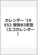 E52 エコカレンダー壁掛B3変