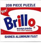 【アウトレットブック】Brillo 208PIECE PUZZLE-Andy Warhol