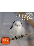 ましかくカレンダー ふわもふことり2019