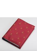 ジャガード織ブックカバー フクロウ&アテナ レッド (丸善150周年記念商品)