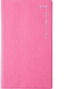 高橋書店 リベルデュオ 6 手帳 2020年 手帳判 マンスリー 皮革調 パープルピンク No.796 (2020年度版4月始まり)
