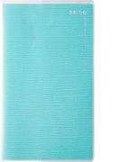 高橋書店 リベルデュオ 7 手帳 2020年 手帳判 マンスリー クリアカバー フォギー ライトブルー No.797 (2020年度版4月始まり)