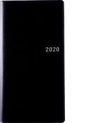 高橋書店 ニューダイアリー 2 手帳 2020年 手帳判 ウィークリー 皮革調 黒 No.804 (2020年度版4月始まり)