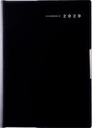 高橋書店 フェルテ(R) 1 手帳 2020年 B6判 ウィークリー 皮革調 黒 No.882 (2020年度版4月始まり)