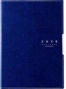 高橋書店 ディアクレール(R) 4 月曜始まり 手帳 2020年 B6判 マンスリー 皮革調 ネイビー No.625 (2020年度版4月始まり)