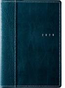 高橋書店 シャルム(R) 6 手帳 2020年 B6判 ウィークリー 皮革調 ダークグリーン No.636 (2020年度版4月始まり)