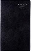 高橋書店 リベル インデックス 1 手帳 2020年 手帳判 マンスリー 皮革調 クラッシーブラック No.661 (2020年度版4月始まり)