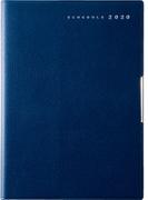 高橋書店 フェルテ(R) 7 手帳 2020年 B6判 ウィークリー 皮革調 ネイビー No.885 (2020年度版4月始まり)