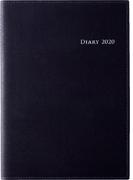 高橋書店 デスクダイアリー カジュアル 1 手帳 日記 ダイアリー 2020年 A5判 ウィークリー 皮革調 黒 No.961 (2020年度版4月始まり)