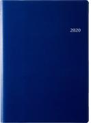 高橋書店 デスクダイアリー 手帳 日記 ダイアリー 2020年 A5判 ウィークリー 皮革調 紺 No.911 (2020年度版4月始まり)