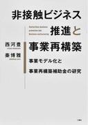 非接触ビジネス推進と事業再構築 事業モデル化と事業再構築補助金の研究