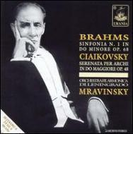 Sym.1 / Serenade For Strings: Mravinsky / Leningrad.po【CD】