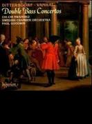 ディッタースドルフ、ヴァンハル、コントラバス協奏曲 ワノク(コントラバス)/グッドウィン/スウェーデン室内管弦楽団【CD】