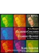 W.A. モーツアルト:クラリネット協奏曲&クラリネット五重奏曲/ライスター