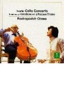 ドヴォルザーク:チェロ協奏曲、チャイコフスキー:ロココ風の主題による変奏曲 ロストロポーヴィチ、小澤征爾&ボストン響【CD】