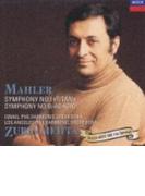 マーラー:交響曲第1番「巨人」、第10番 ズービン・メータ【CD】