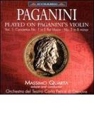 Violin Concerto.1, 2: Quarta(Vn)genoa Teatro Carlo Felice.o【CD】