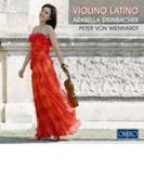 ラテン作品集[ピアソラ、ファリャ、ヴィラ=ロボス、他] 美歩・シュタインバッハー(Vn)ヴィーンハルト(P)【CD】