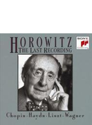 Horowitz The Last Recording