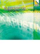 カプースチン:ピアノ五重奏曲、他 ニコライ・カプースチン(ピアノ)【CD】