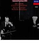 チェロ・ソナタ第1番、第2番 フルニエ(vc)バックハウス(p)【CD】