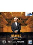 ブラームス:交響曲第1番、ドヴォルザーク:序曲『謝肉祭』 秋山和慶&東京交響楽団